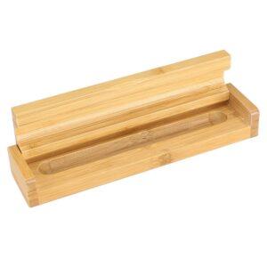 Estuche de Madera de Bamboo para 1 bolígrafo