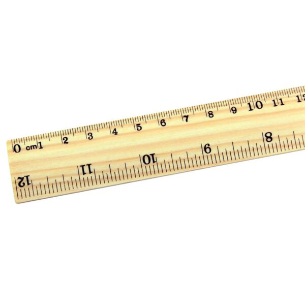 Regla de Madera 30 cm