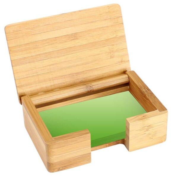 Tarjetero Sobremesa de Bamboo 3