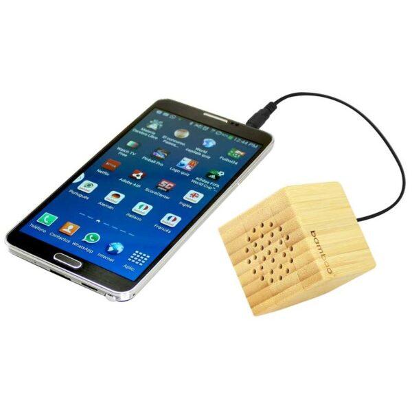 USB Parlante de Bamboo 2